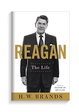 Book cover for Reagan: The Life.