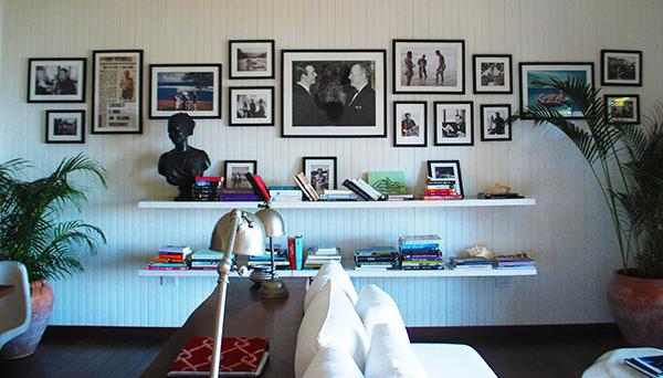 Another photo inside 'Goldeneye.'