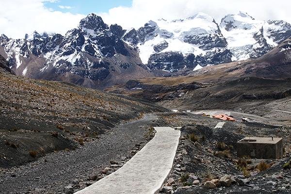 Pastoruri Glacier, Cordillera Blanca, Peru, 2014. . Photo by Kenneth Young.