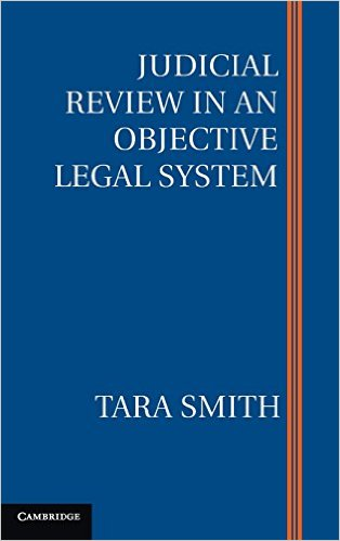 Book cover for Judicial Review in an Objective Legal System.