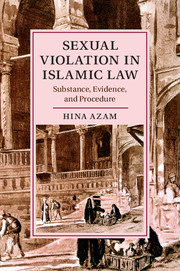 Book cover for Sexual Violation in Islamic Law: Substance, Evidence, and Procedure.