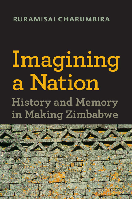 Book cover Imagining a Nation: History and Memory in Making Zimbabwe.
