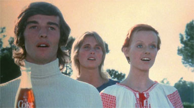 The Hilltop commercial, which includes the iconic jingle I'd Like to Buy the World a Coke, was produced by McCann Erickson and premiered in 1971.