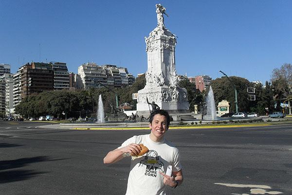 DiGiovanni in Buenos Aires.
