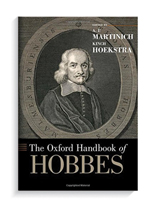Book cover for The Oxford Handbook of Hobbes.