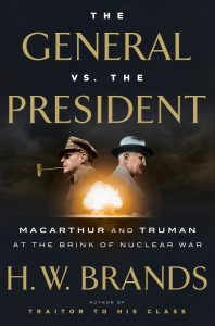Book cover for The General Vs. The President.
