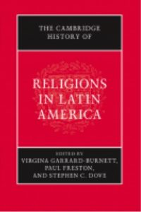 book cover for The Cambridge History of Religions in Latin America.