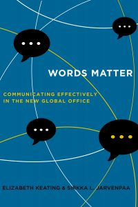 Book cover for Words Matter: Communicating Effectively in the New Global Office.