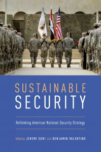 Book cover for Sustainable Security: Rethinking American National Security Strategy.