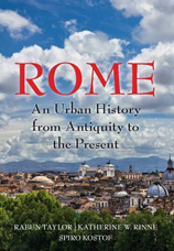 Book cover for Rome: An urban history from antiquity to the present.