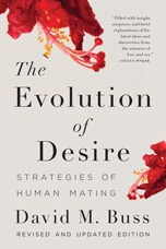 Book cover for The Evolution of Desire: Strategies of Human Mating.