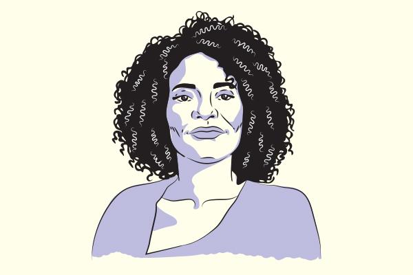 Illustration of Jordan Metoyer.