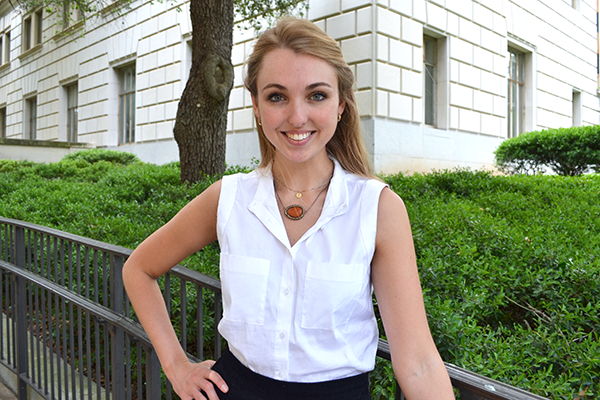 English and Plan II Senior Awarded $18,000 Diehl Prize to Help Serve Others