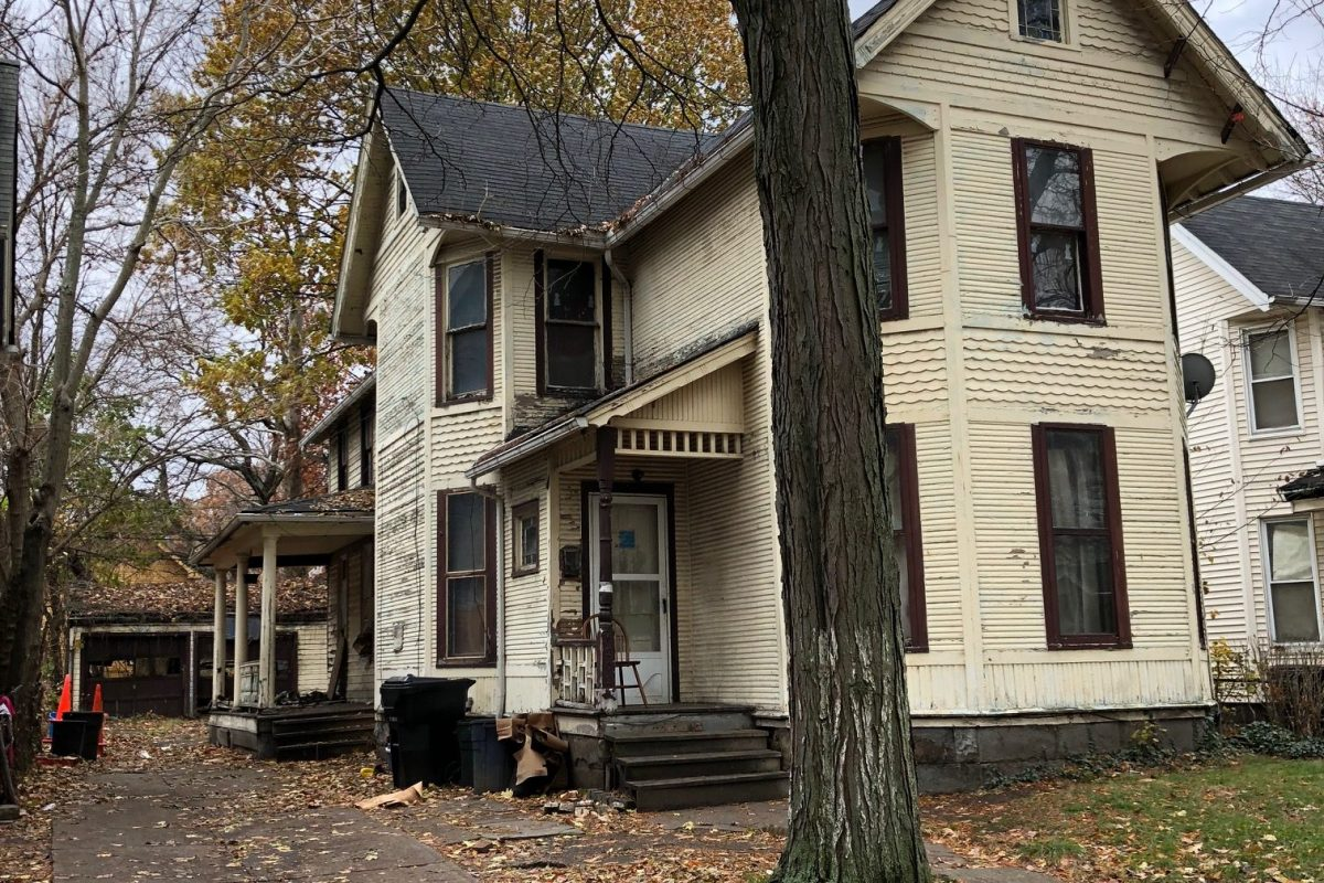 Tom Palaima's grandparent's house in Cleveland, Ohio.