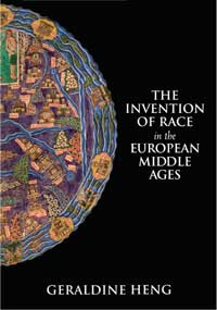 Book cover for The Invention of Race in the European Middle Ages.