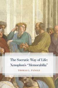 "Book cover for The Socratic Way of Life: Xenophon's ""Memorabilia""."