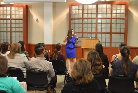 Texas State Representative of House District 75 Mary González delivered the keynote address at this year's conference