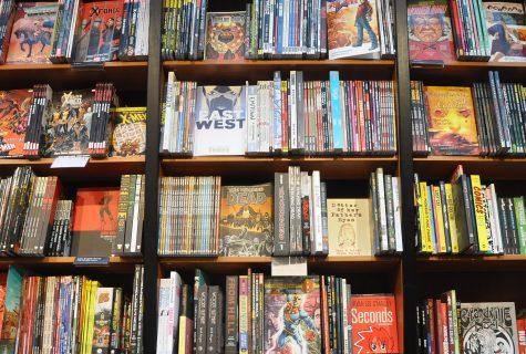 inside a book store