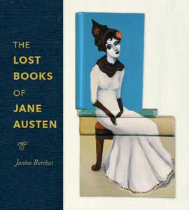 Book cover for The Lost Books of Jane Austen.