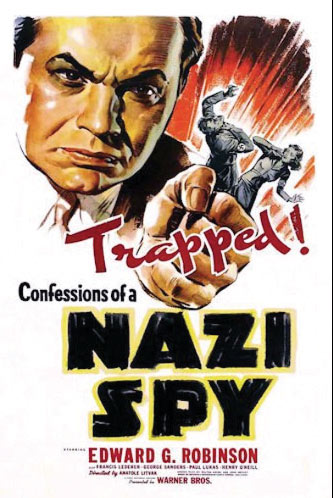 poster for Confessions of a Nazi Spy