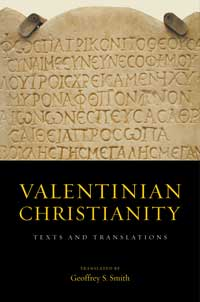 Book cover for Valentinian Christianity: Texts and Translations.