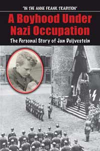 A Boyhood Under Nazi Occupation book cover.