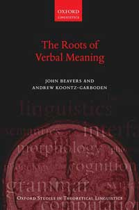 The Roots of Verbal Meaning book cover.