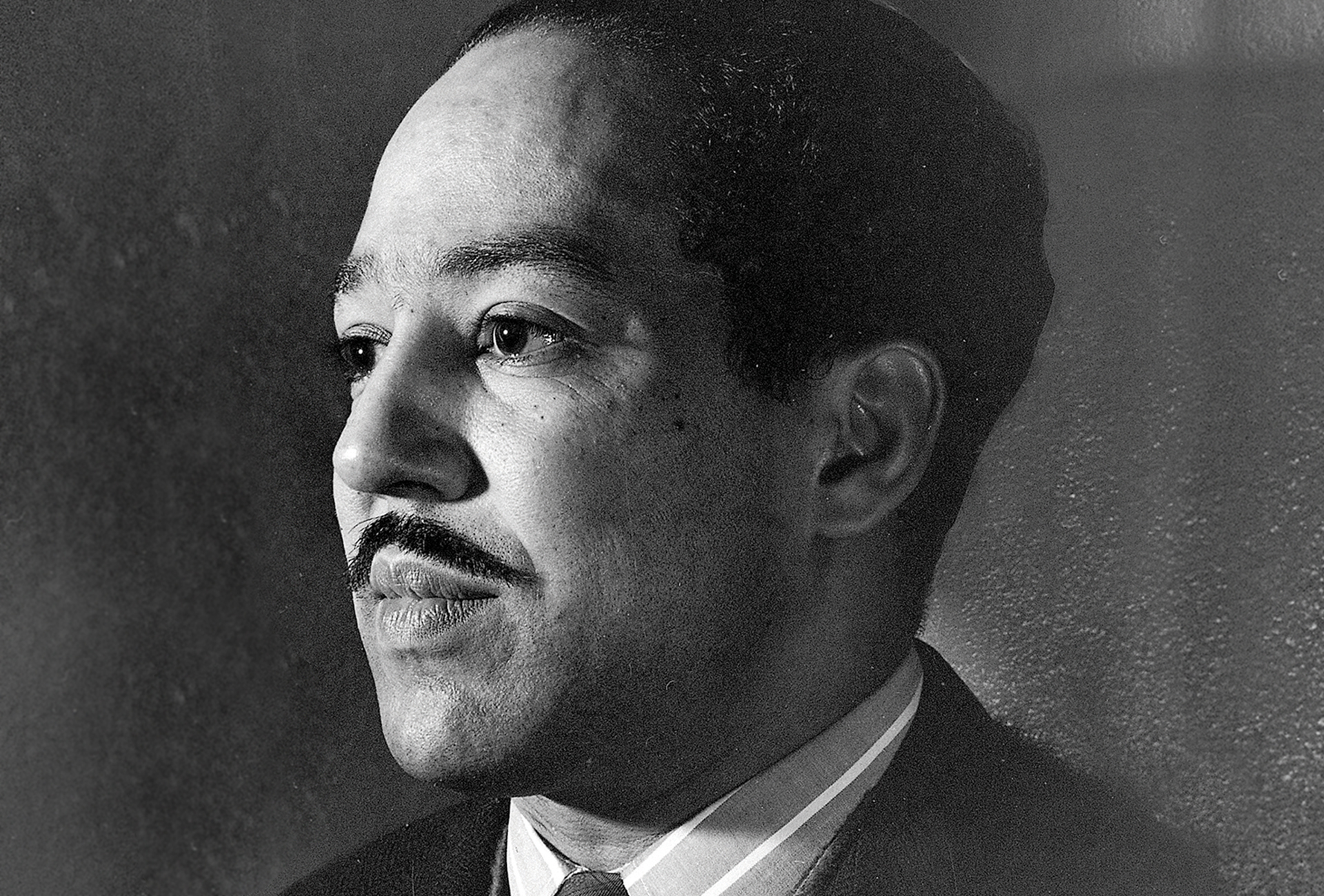 Portrait of Langston Hughes, 1942.