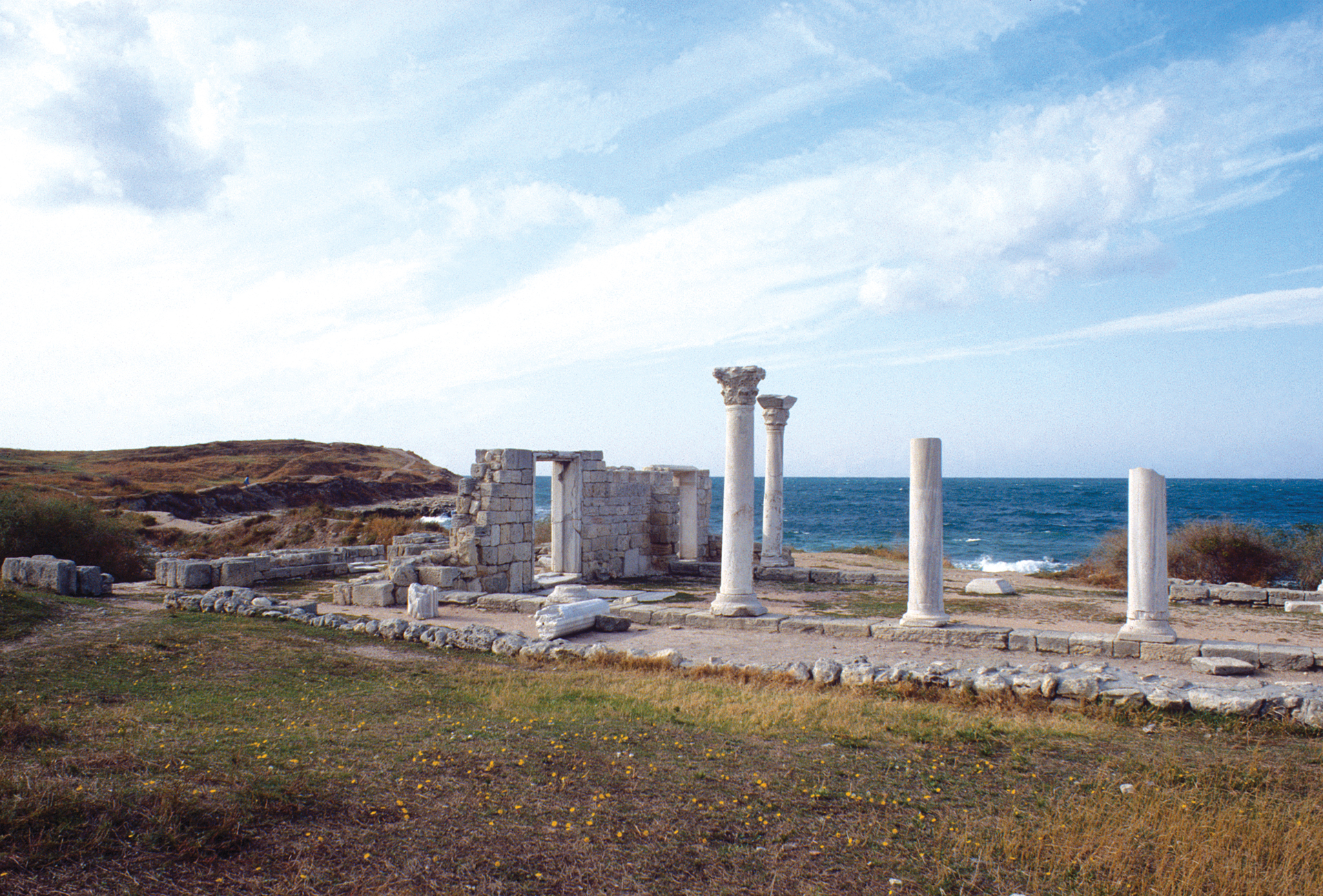 Crimean World Heritage site, Chersonesos.