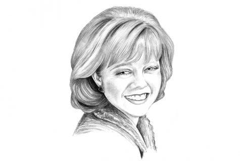 Illustration of Christina Melton Crain.