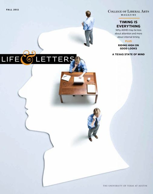 Fall 2011 cover of Life & Letters