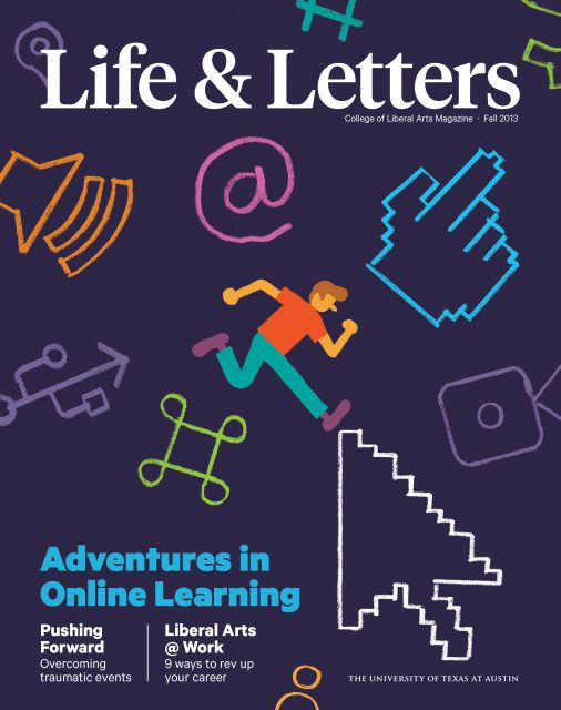 Spring 2013 cover of Life & Letters
