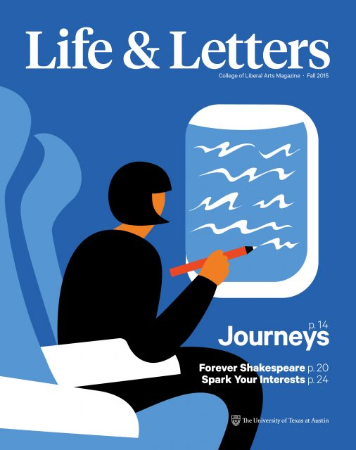 Fall 2015 cover of Life & Letters