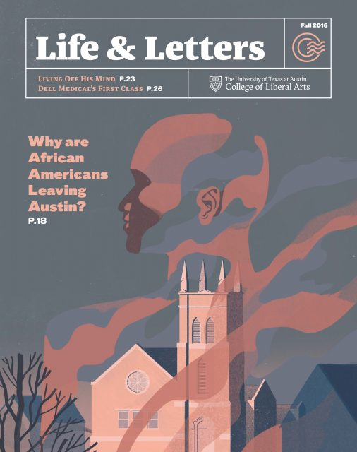 Fall 2016 cover of Life & Letters