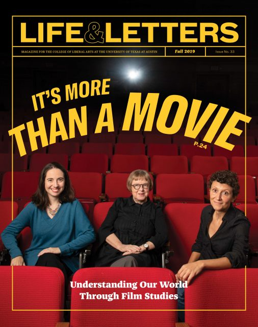 Fall 2019 cover of Life & Letters