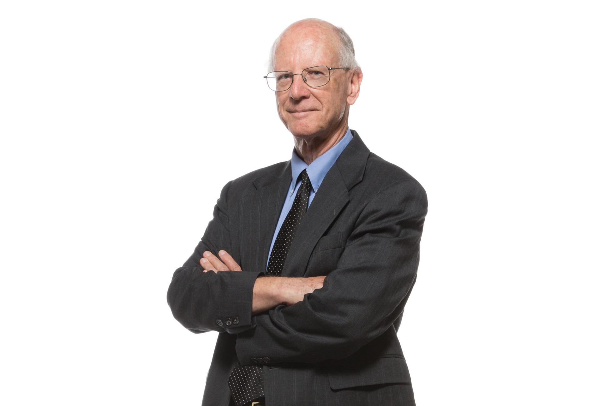Portrait of Jim Garrison.