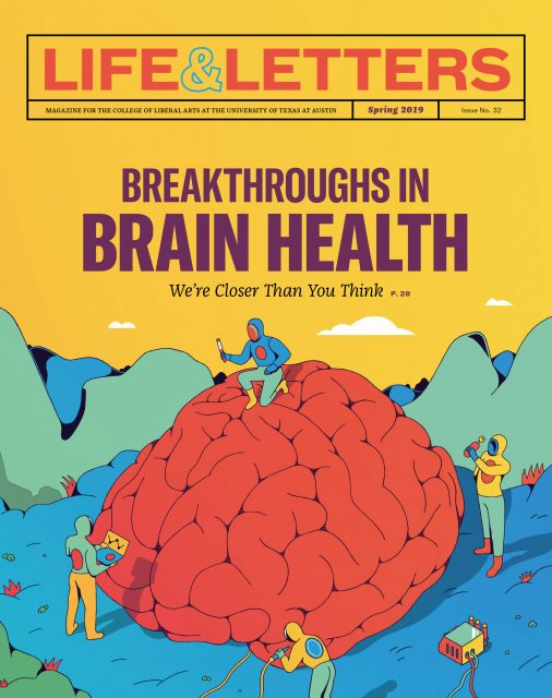 Spring 2019 cover of Life & Letters