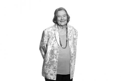 Portrait of Peggy Hardaway Beckham.