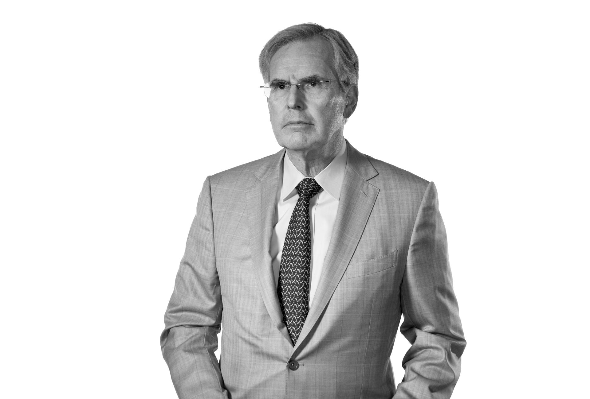 Portrait of Dr. Richard Harper.