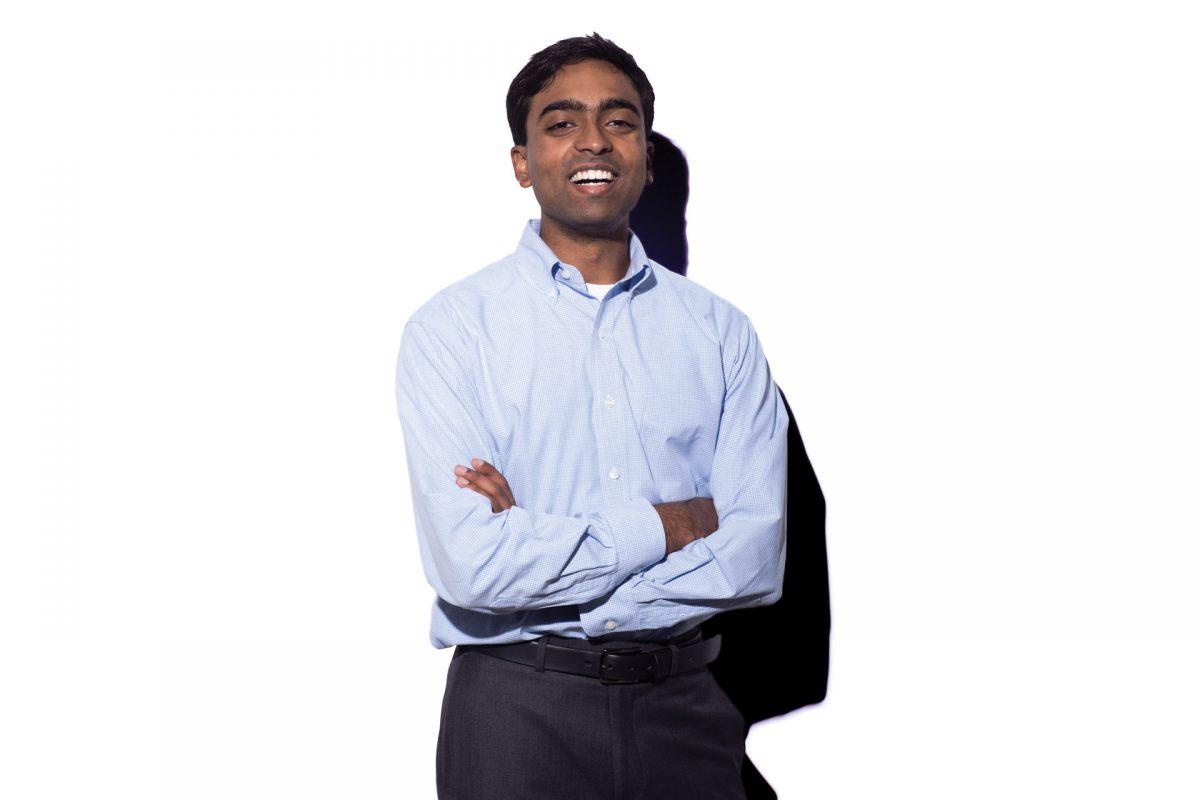 Portrait of Sai Gourisankar.