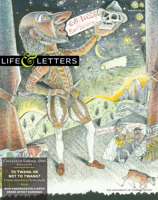 Spring 2012 cover of Life & Letters
