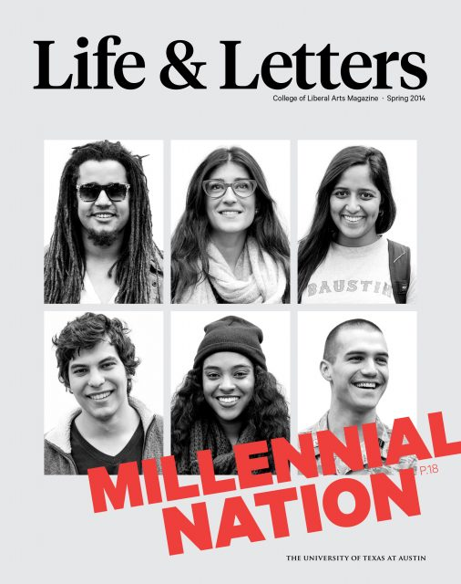 Spring 2014 cover of Life & Letters