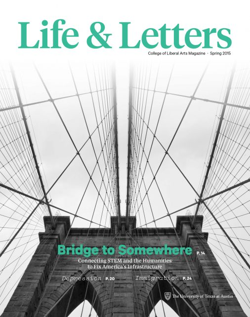 Spring 2015 cover of Life & Letters