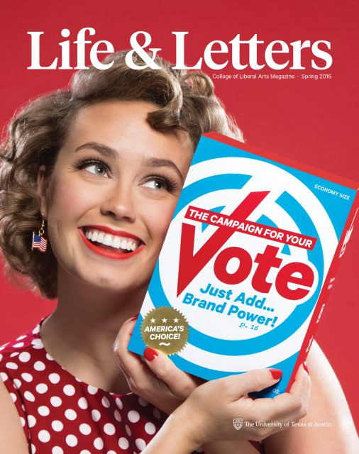Spring 2016 cover of Life & Letters