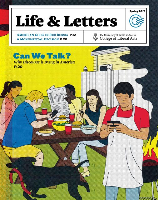 Spring 2017 cover of Life & Letters