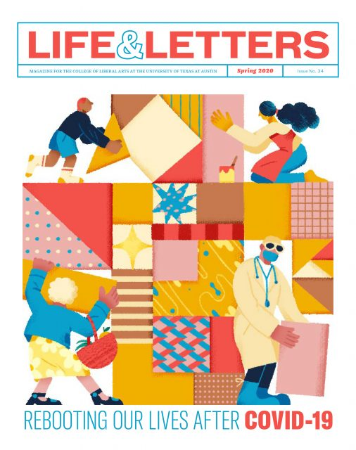 Spring 2020 cover of Life & Letters