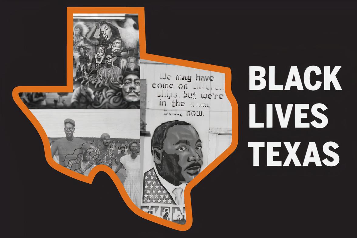Black Lives Texas logo