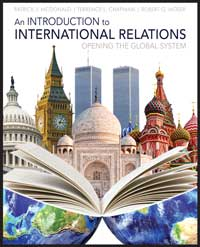 "Book cover for ""An Introduction to International Relations: Opening the Global System."""