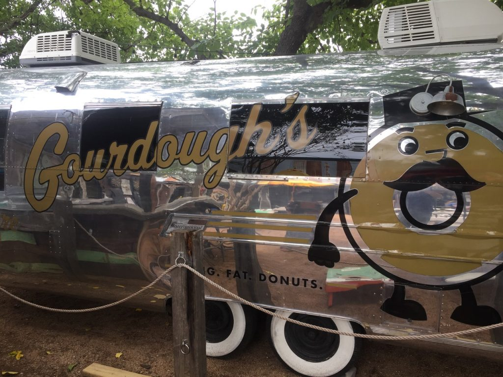 Gourdough's food truck.
