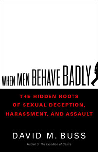 """Book cover for """"When Men Behave Badly."""""""